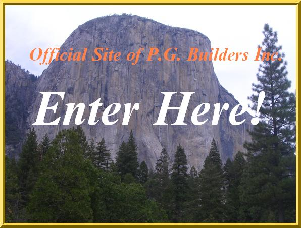 Official Site of P.G. Builders Inc.